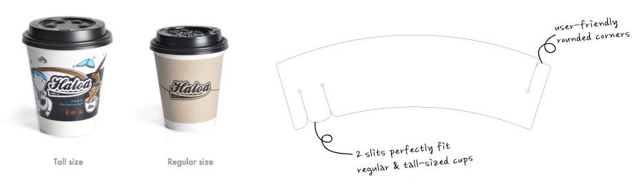 Big Sleeve - Coffee Cup Sleeves - Printing & Design - Branding